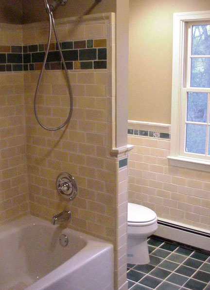 Bathroom Tile Ideas Craftsman Style : Handmade ceramic tiles craftsman style