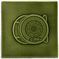 Fly Reel - Olive Green