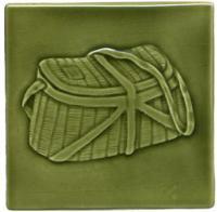 Creel Basket - Olive Green