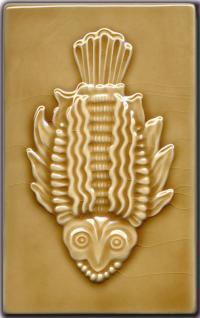 Inuit Fish - Goldenrod