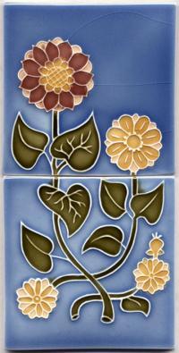 Capitol Flowers - 2 Tile Set