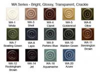 Buy Samples of our WA series glazes here.