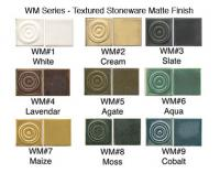 Buy samples of our WM series glazes here.